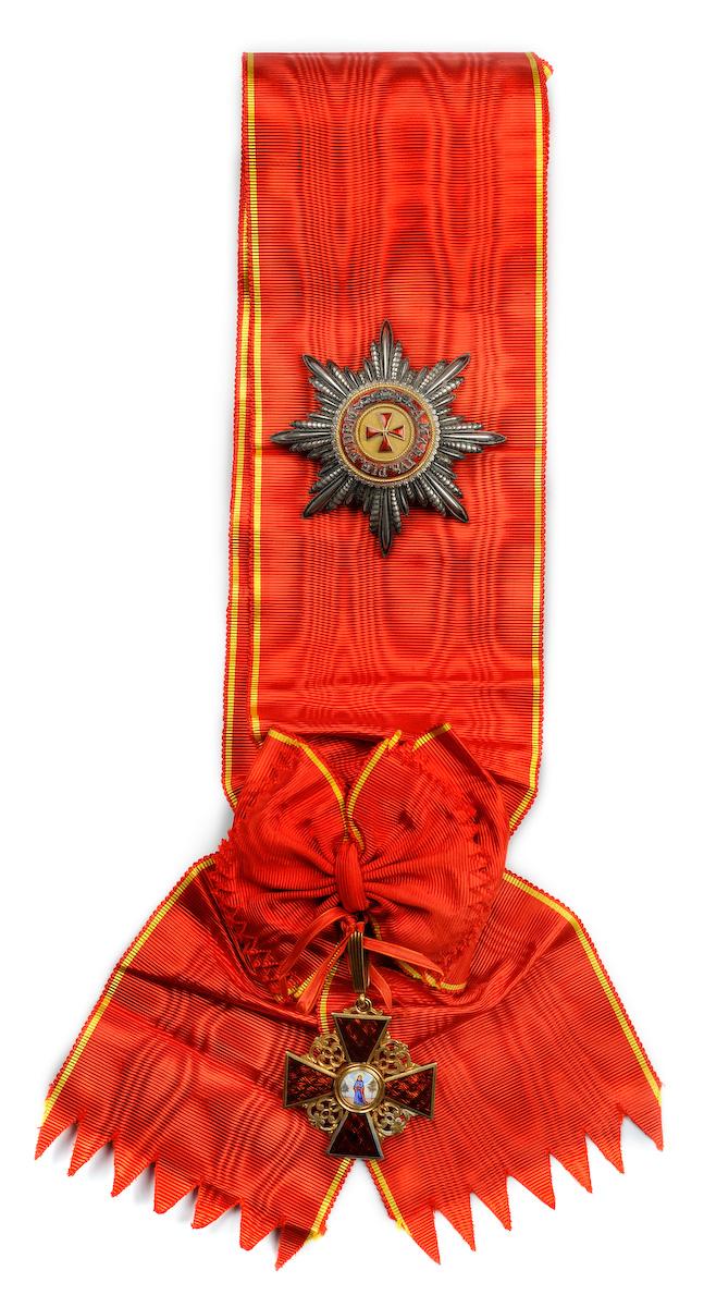 Картинки по запросу Орден святой Анны 1-й степени