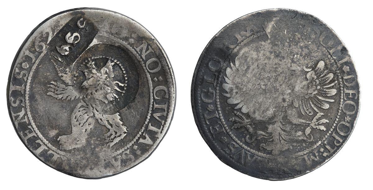 Ефимок С Признаком 1655 Г. Описание Монеты